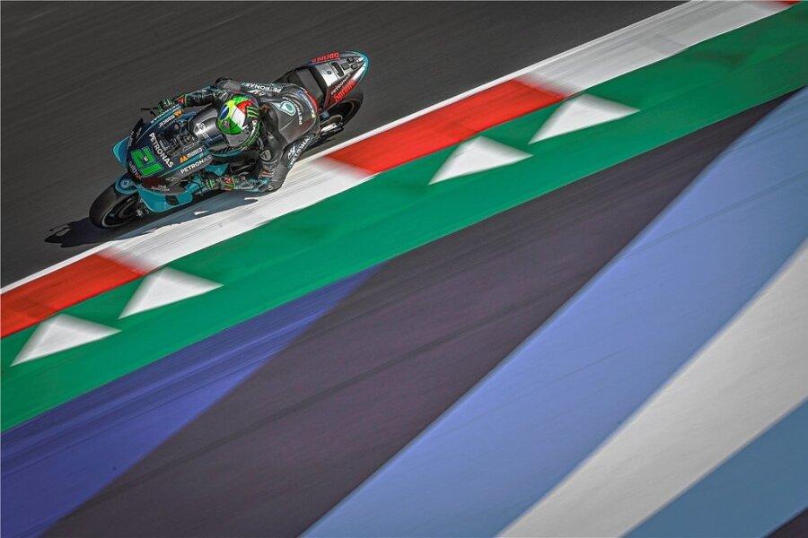 Franco Morbidelli feierte beim Heimspiel in Italien seinen ersten Sieg in der Königsklasse der Motorrad-WM.