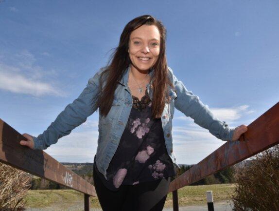 Sängerin Johanna Dorst aus Adorf sprüht nach gesundheitlichen Problemen voller Lebensfreude.