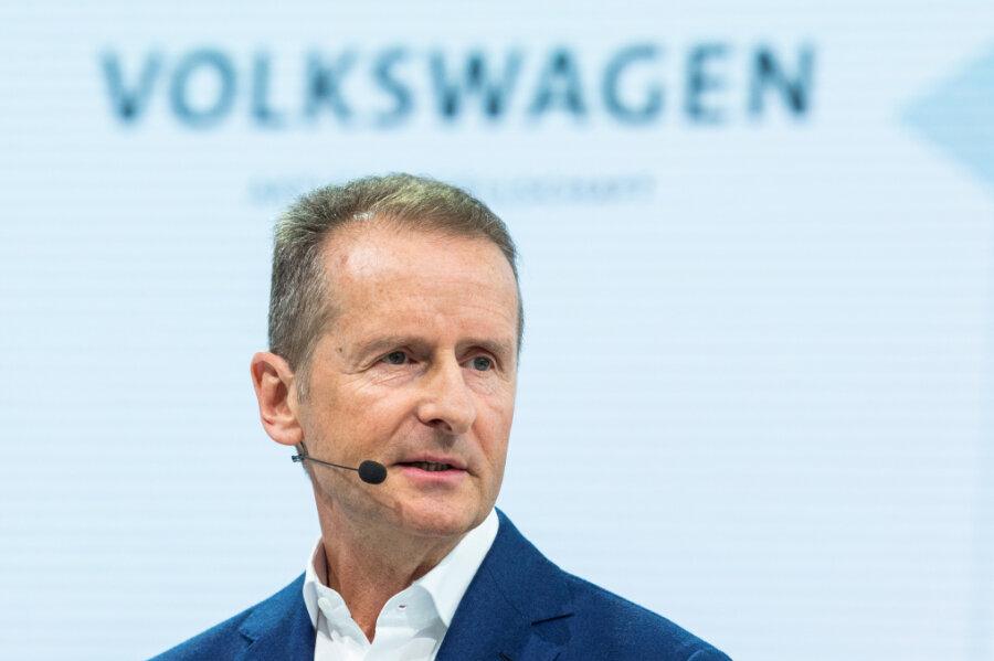 Obwohl sich Herbert Diess, VW-Vorstandschef, in den vergangenen Jahren nicht nur Freunde gemacht hat, wurde sein Vertrag verlängert.