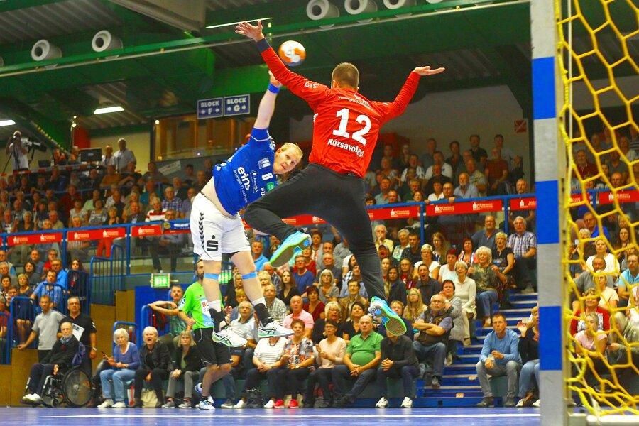 EHV Aue gewinnt erstes Heimspiel der Saison