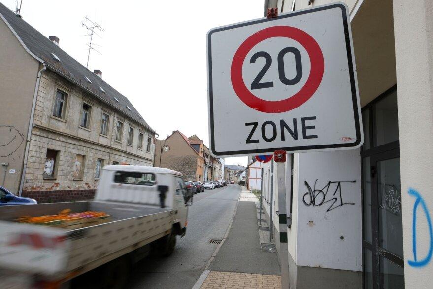 20er-Zone vorübergehend erweitert