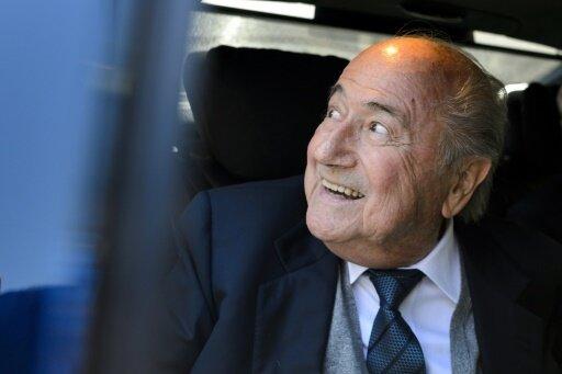 Joseph Blatter geht optimistisch zum CAS