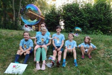 Während des Lockdowns animierte die Kindersportschule Familien, draußen gemeinsam Sport zu treiben.