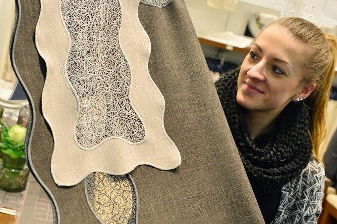 Die aus Franken stammende Nadine Hartmann hat bei Reuter & Sohn ihren Traumjob gefunden.
