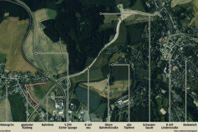 Der Radweg in Rebesgrün ist abgelehnt. Der Stadtrat folgte dem Willen der Anwohner.