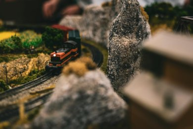 Eine Modelleisenbahn haben Diebe in Plauen gestohlen. Hier ein Symbolbild.