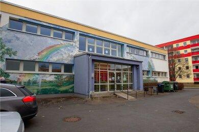 In dieses Gebäude wird das Montessori-Kinderhaus einziehen.