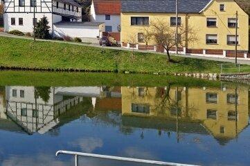 Im Elsterberger Ortsteil Cunsdorf entstand dieses Foto.
