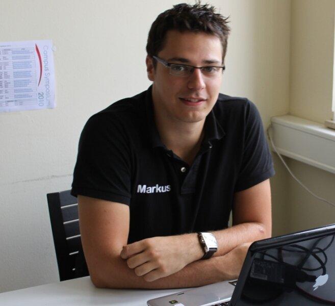 Der 22-jährige Lengenfelder Markus Jaensch moderiert am 2. und 3. September zusammen mit Eva Book das 6. Campus Symposium der privaten Hochschule BiTS in Iserlohn.