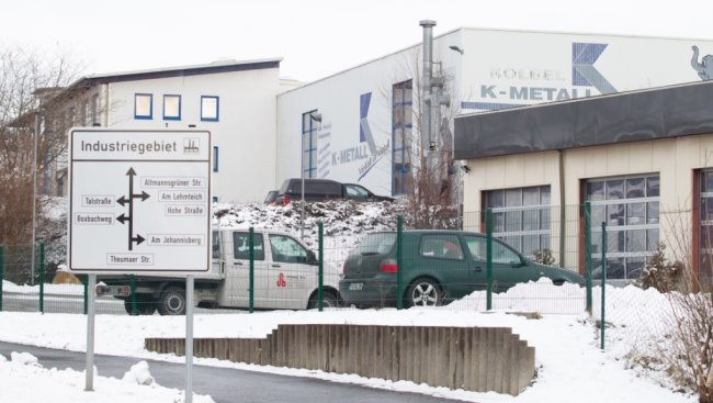 """Die Stadt Oelsnitz konnte im IHK-Städtetest unter anderem als Industriestandort punkten. Verschiedene Firmen haben sich beispielsweise im Industriegebiet """"Am Johannisberg"""" niedergelassen."""
