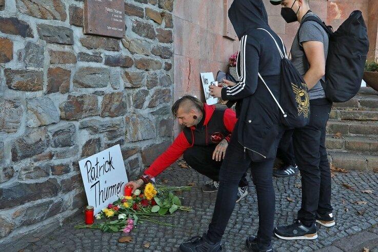Am Freitag wurde in Hohenstein-Ernstthal des von Neonazis ermordeten Patrick Thürmer gedacht - und mit ihm aller Opfer rechter Gewalt.