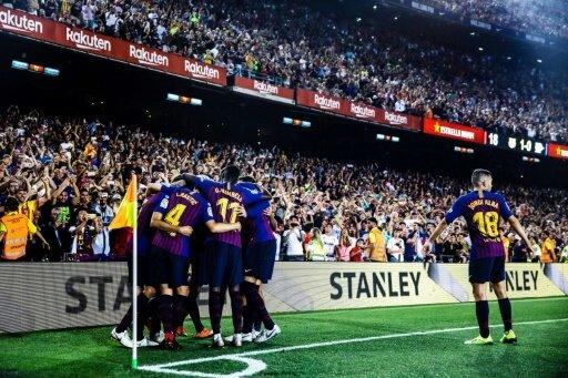 Der FC Barcelona feierte gegen Huesca einen Kantersieg