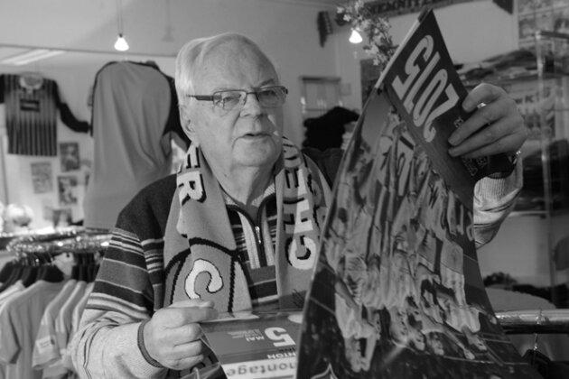 CFC-Ehrenmitglied Gerhard Oertel