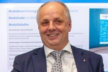 Der Plauener BA-Direktor Lutz Neumann: Er ist Mitinitiator des neuen Projektes.