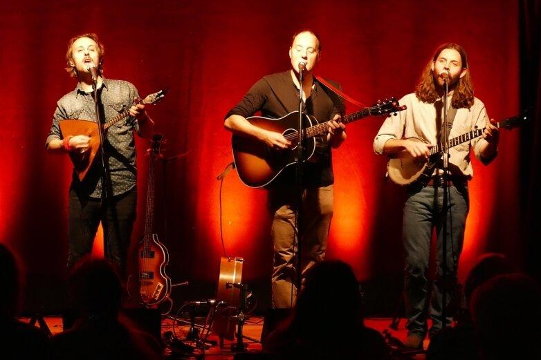 Kanadische Folk-Band genießt Abstecher ins Erzgebirge