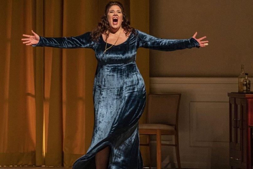 Sorgte für dramatisch-leidenschaftliche Töne: Stéphanie Müther als Isolde.
