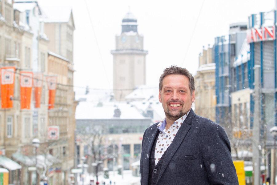 Ingo Eckardt will zur Oberbürgermeisterwahl im Juni kandidieren. Dafür benötigt er noch 160 Unterstützungsunterschriften.
