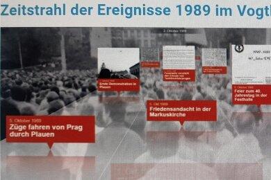 """Plauen und das Vogtland haben bei der Friedlichen Revolution eine zentrale Rolle gespielt. Der Verein """"Vogtland 89"""" stellt das auf seiner Homepage dar und will es in der Geschichtsschreibung verankern."""