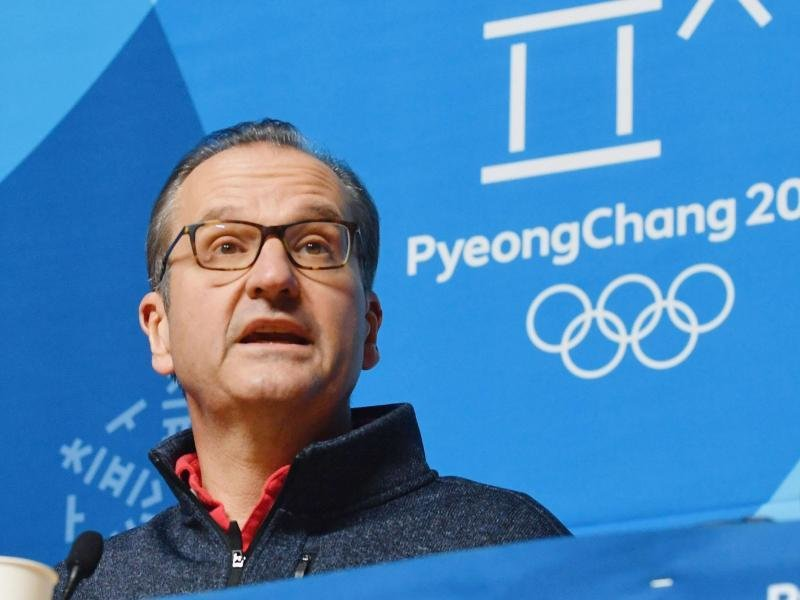 Mark Adams, Kommunikationsdirektor des Internationalen Olympischen Komitees (IOC).