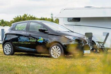 Die Talsperre Pöhl bietet Campingfreunden mit Wohnmobil in dieser Saison erstmals ein Mietauto zum Erkunden vogtländischer Ausflugsziele. Zur Verfügung steht ein Renault Clio.