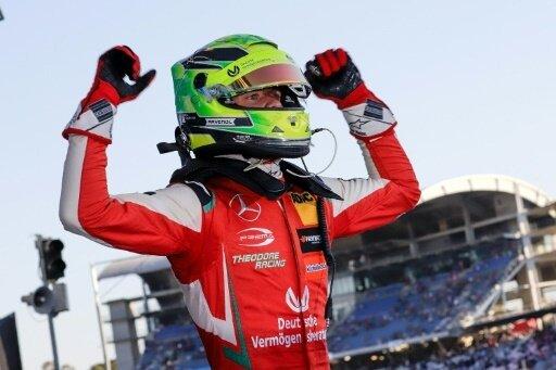 Saisonabschluss mit Platz zwei: Mick Schumacher