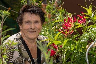 Edda Beier Garten Exoten: Ruhmeskrone