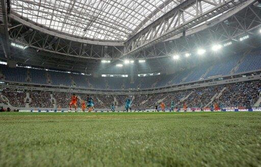 In St. Petersburg:  Drohnenabsturz bei Ligaspiel