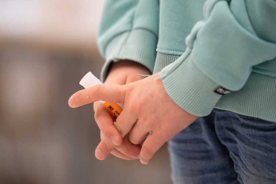 Corona-Selbsttests an Mittelsachsens Schulen: Infektionsrate gering