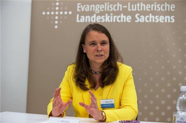 Bettina Westfeld - SynodalpräsidentinLandeskirche Sachsen