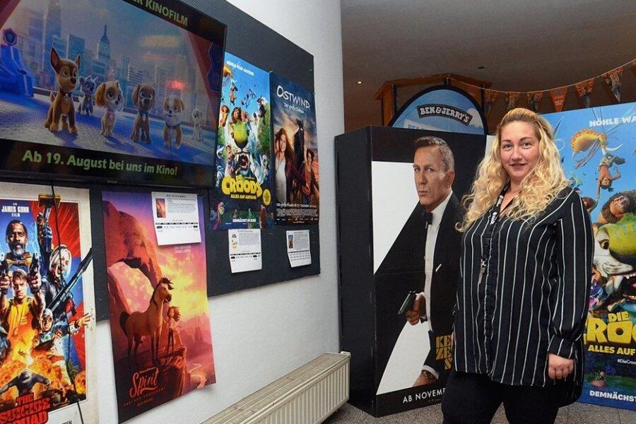 Seit einem Monat ist auch das Auerbacher Kino wieder offen. Chefin Sylvia Glaß zieht eine gute Bilanz.