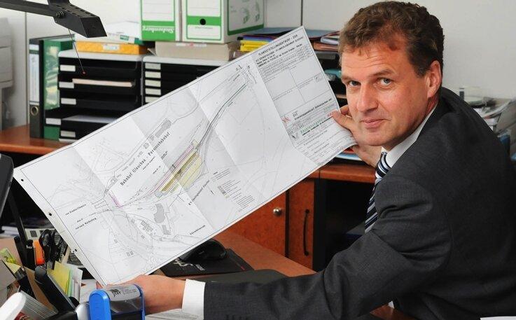 Auf dem Papier von Alfons Wagener ist das Projekt fertig.