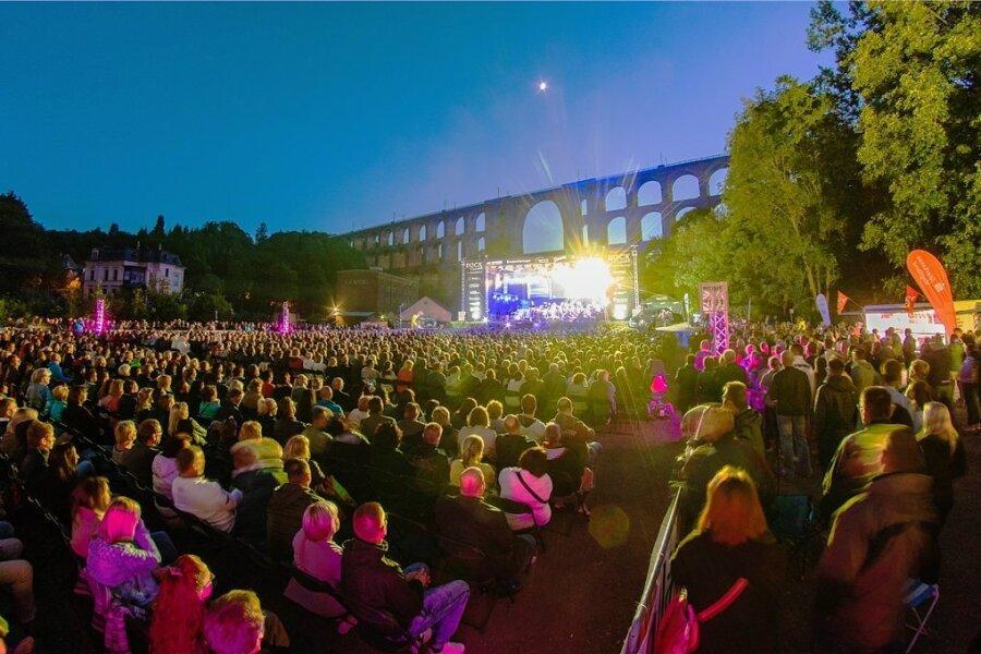 Erinnerung an die Rock Classics an der Göltzschtalbrücke im Juni 2019. Bedingt durch die Coronapandemie fiel das Event 2020 aus und wurde jetzt auch für 2021 abgesagt.