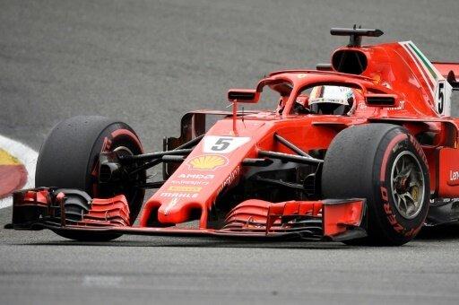 Sebastian Vettel holt sich den Großen Preis von Belgien