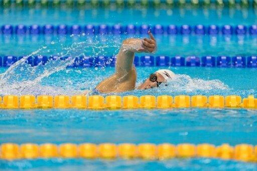 Maike Naomi Schnittger gewann Gold über 400 m Freistil