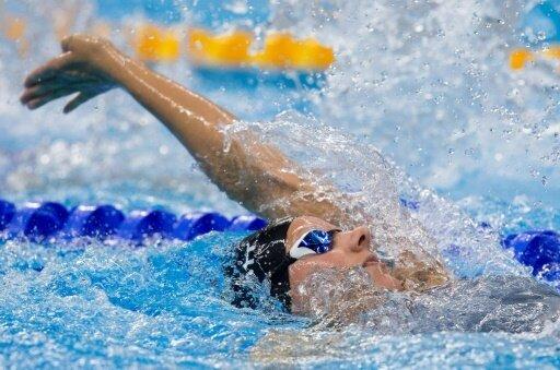 Verena Schott schwamm deutschen Rekord und gewann Bronze