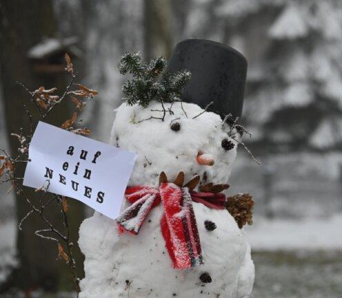 Zumindest Schnee hat das neue Jahr gebracht. Mit 2021 verbinden viele nicht zuletzt die Hoffnung, dass die Pandemie kontrolliert werden kann und die damit verbundenen Einschränkungen enden.