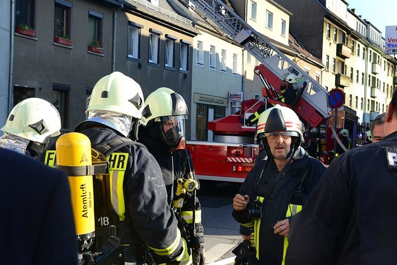 Dachstuhlbrand in Frankenberg zerstört Wohnung