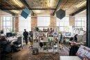 Jung, kreativ und dynamisch: In der Spinnerei in Leipzig arbeiten immer zehn Existenzgründer gleichzeitig an der Digitalisierung der Welt.