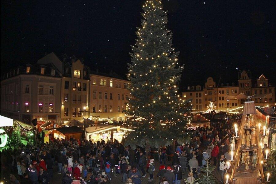 In Plauen soll 2021 der Weihnachtsmarkt stattfinden.