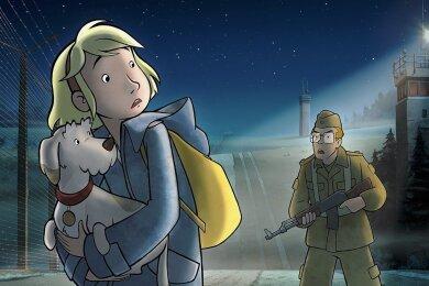 """Eine Szene des Films """"Fritzi - Eine Wendewundergeschichte"""", der in dieser Woche in Moskau gezeigt wird. Der mehrfach ausgezeichnete Film wird dort präsentiert vom Chemnitzer Kinderfilmfestival Schlingel."""