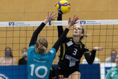 In der 2. Bundesliga am Ball: Lea Spitzenberger aus Brand-Erbisdorf spielt seit 2019 in Waldgirmes.