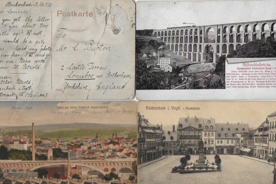 Wer kennt den Reichenbacher Briefeschreiber Walther Petzold?