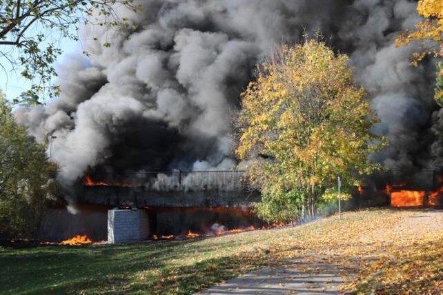 Ursache für Brückenbrand von Flöha ermittelt
