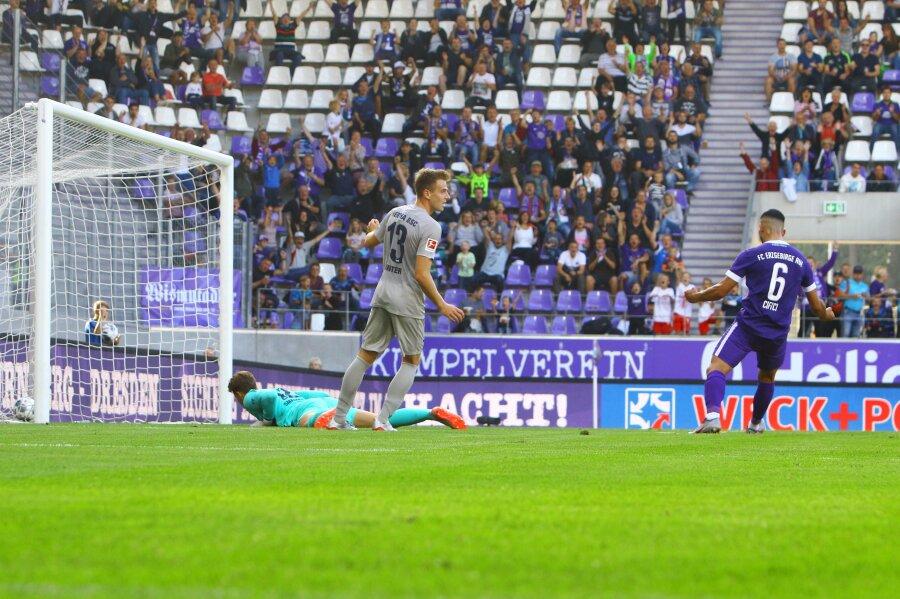 Erzgebirge Aue gewinnt Test gegen Hertha BSC 4:1