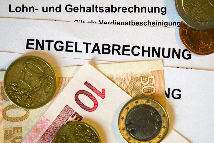 Die Sachsen verdienen unterdurchschnittlich