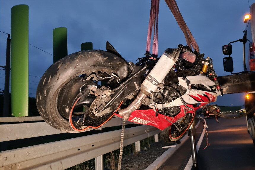 Motorradfahrer bei Fraureuth tödlich verunglückt