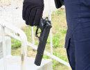 Die sichergestellte Spielzeugpistole.