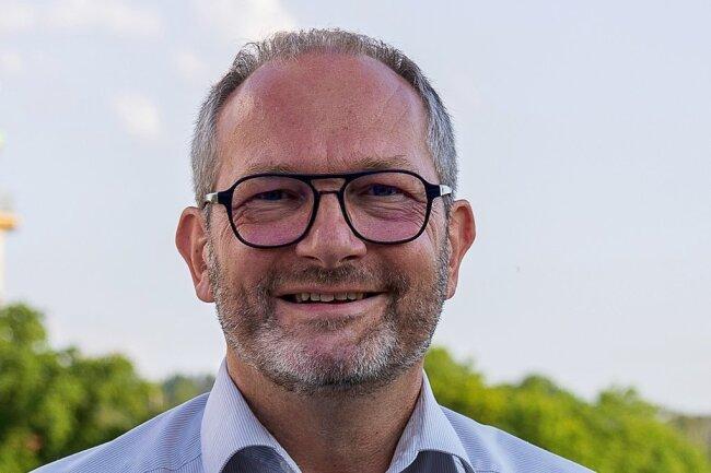 Jens Scharff, OB-Kandidat von Auerbach.