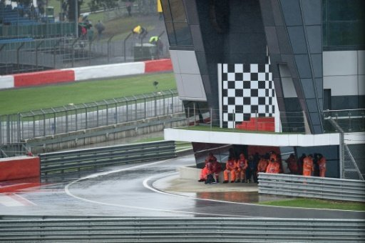 Wegen Dauerregen wurde das Rennen abgesagt