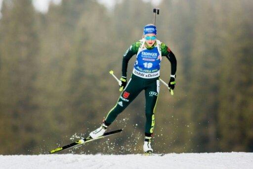 Franziska Preuß sprintet auf Platz neun